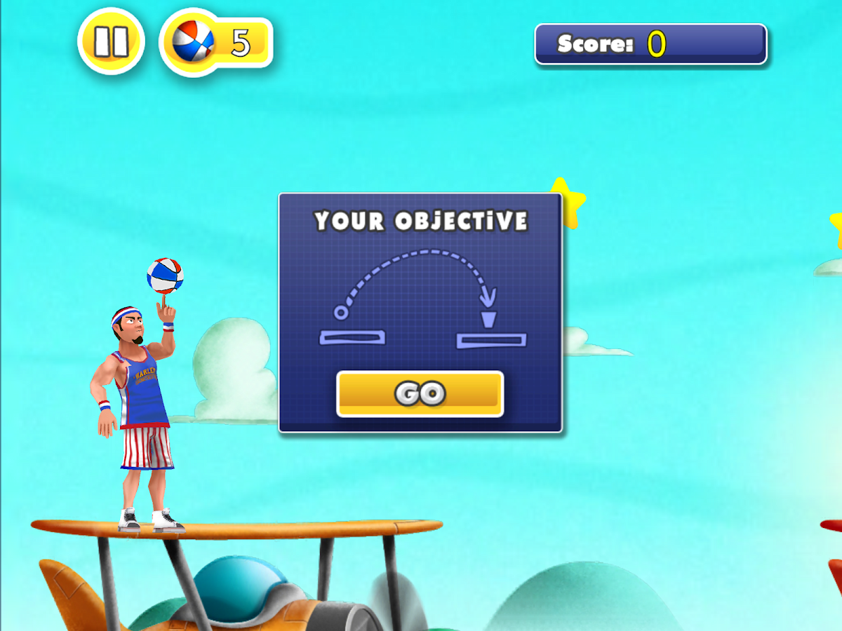 Globetrotter Trick Shots- screenshot