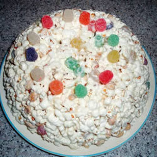 Chewy Popcorn Cake