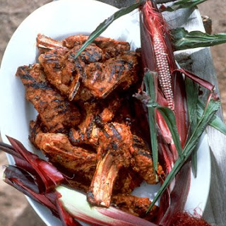 Red Chile Lamb Chops.