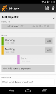 Timesheet - Mobile Worker - screenshot thumbnail