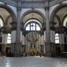 katedral - Santa Marija dela salute by Stojiljkovic  Zoran - Buildings & Architecture Public & Historical ( santa, cristianity, venice, marija, chyrch, italy, cristian, catedral )