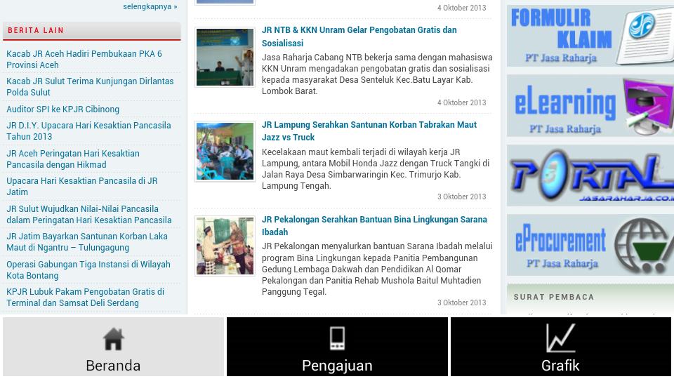 Jasa Raharja - screenshot