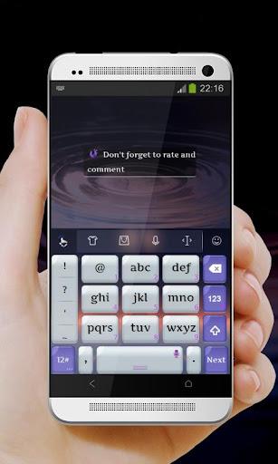 【免費個人化App】光面夜 TouchPal Theme-APP點子