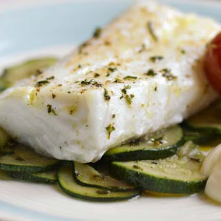 Cod with a zing of Lemon