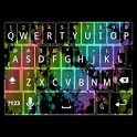 Rainbow Splatter Keyboard Skin icon