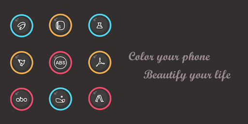 Colorful Eye Icon Pack