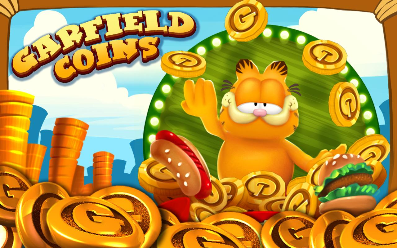 Garfield Coins- screenshot