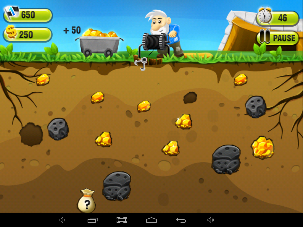 old gold miner game