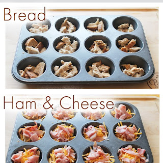 Easy Breakfast Casserole Muffins.