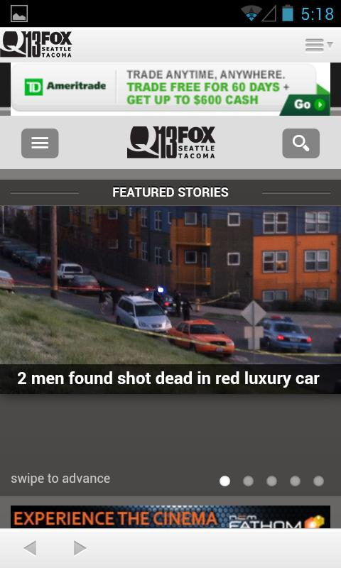 Q13 FOX News - Seattle - screenshot