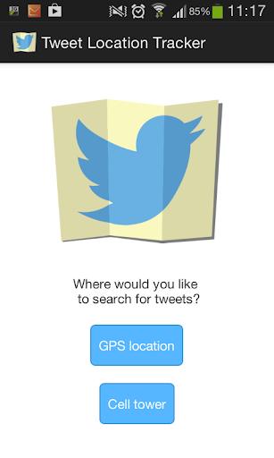 Tweet Location Tracker
