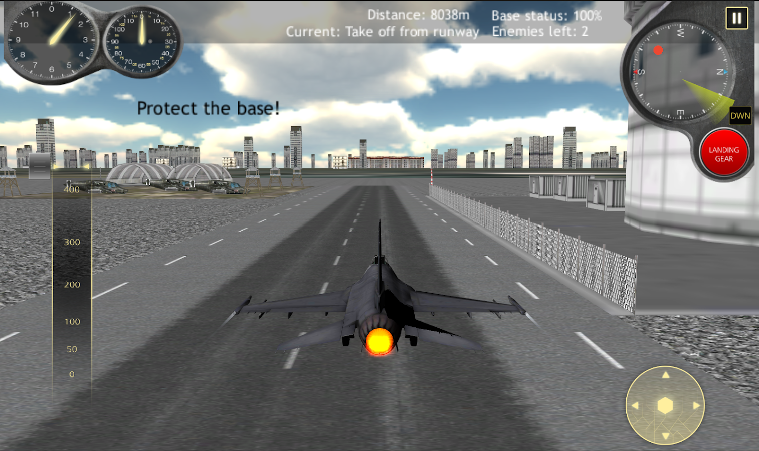 Fly Airplane Fighter Jets 3D- screenshot
