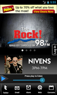 98.9 The Rock!- screenshot thumbnail