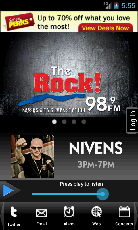 98.9 The Rock! - screenshot