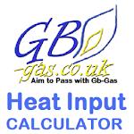 Gb-Gas heat input Calculator