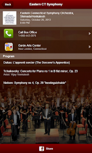 Eastern Connecticut Symphony- screenshot thumbnail