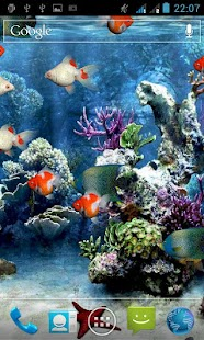 Aquarium Free Live Wallpaper Screenshot