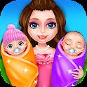 Mommy & Newborn Baby Twins! icon