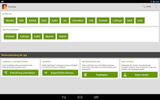 Screenshot of Gesetze