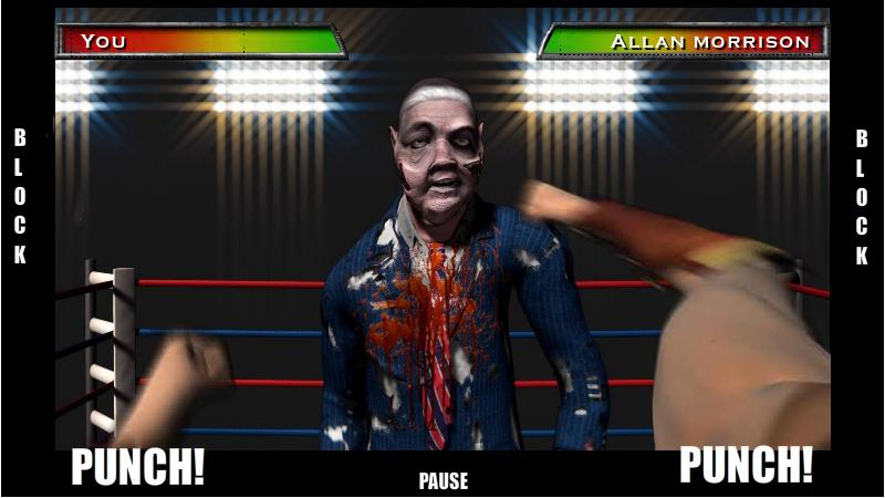 Zombie Boxing - screenshot