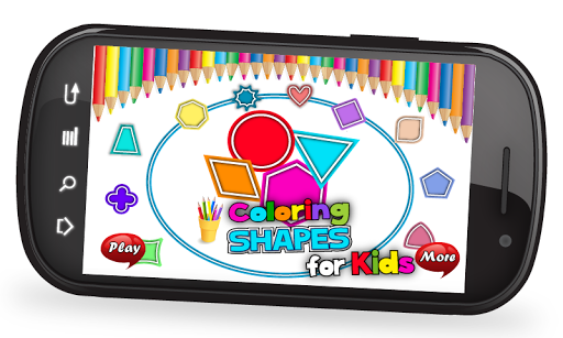 Coloring Shapes For Kids