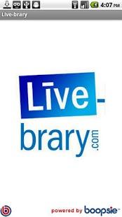 Live-brary.com- screenshot thumbnail