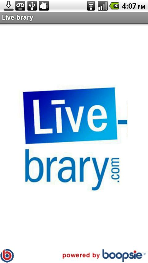 Live-brary.com - screenshot