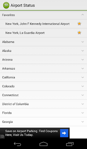 Airport Status
