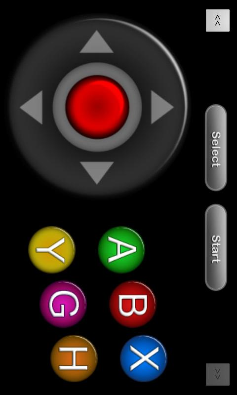 nJoy - Joystick up your device - screenshot