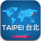 Taipei Map Guide & Hotels icon