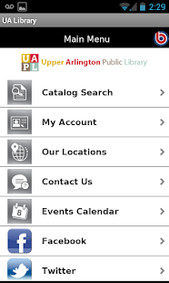 Upper Arlington Public Library- screenshot thumbnail