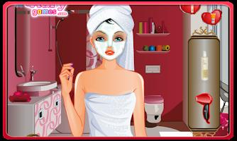 Screenshot of Girl in Love Makeover