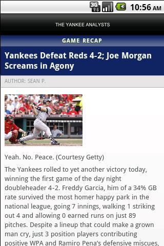 The Yankee Analysts- screenshot