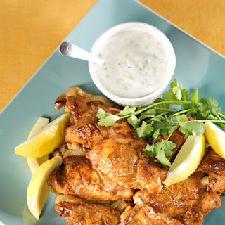 Indian-Spiced Chicken with Raita