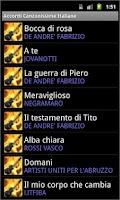 Screenshot of Best Italian Songs Chords
