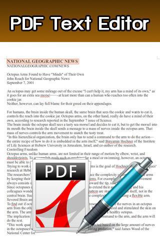 PDF Text Editor