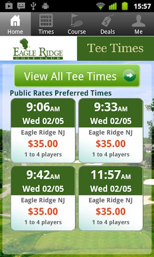 Eagle Ridge-NJ Golf Tee Times