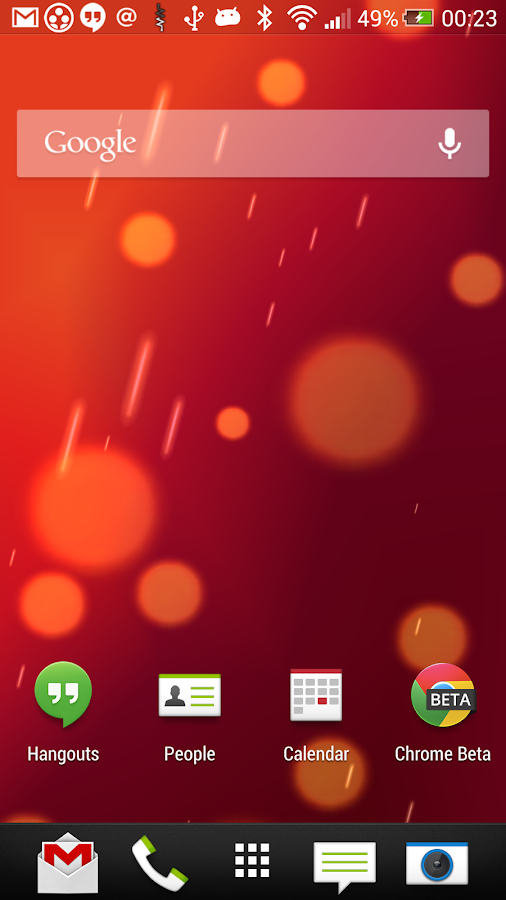 SunBeam Live Wallpaper - screenshot