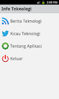 Screenshot of Info Tekno