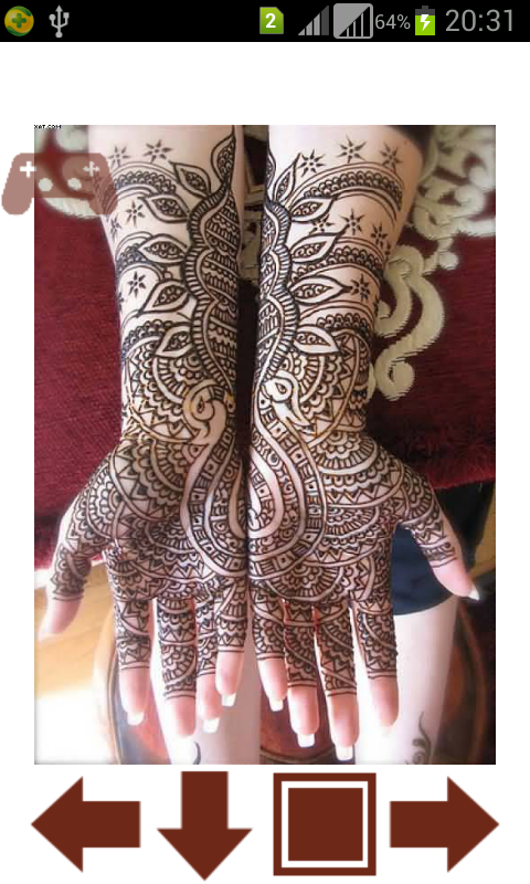 Mehndi Hands With Mobile : Bridal mehndi designs android apps on google play