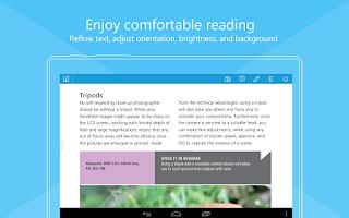Screenshot of Foxit MobilePDF - PDF Reader