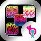 Rainbow Animal Print Wallpaper icon