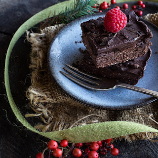 Gluten-Free Vegan Brownie