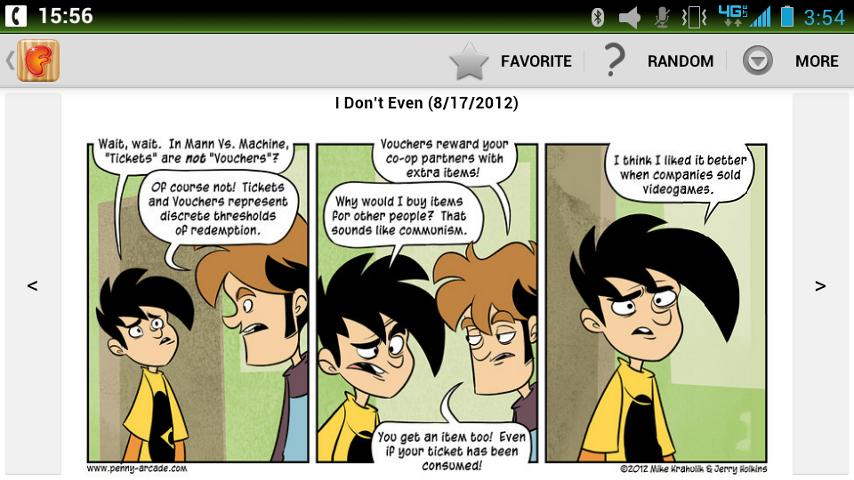 Fusion Comic Viewer - screenshot