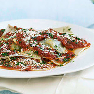 Pan-Fried Spinach Ravioli