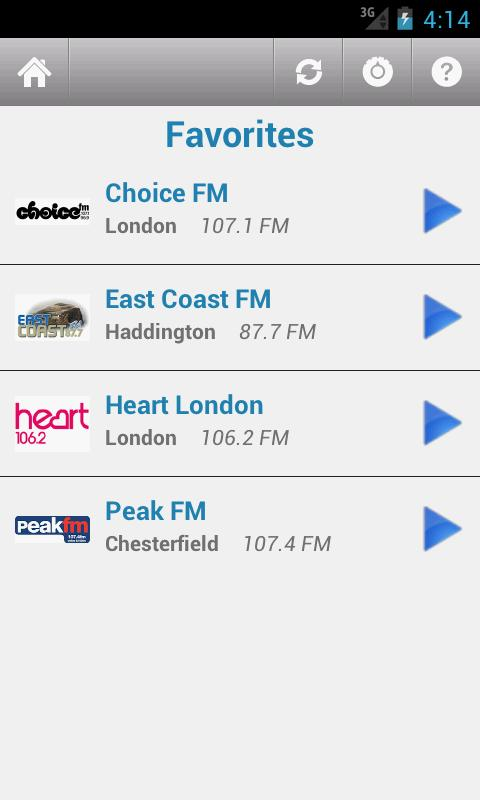 British Radio- screenshot