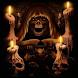 Grim Reaper Candles Live Wallp