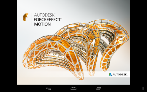 Autodesk ForceEffect Motion- screenshot thumbnail