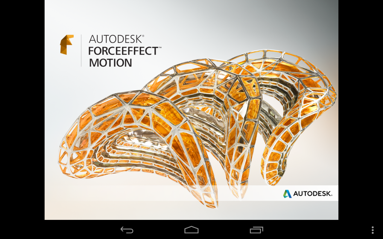 Autodesk ForceEffect Motion - screenshot
