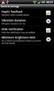 Brightness Motion Lite - screenshot thumbnail